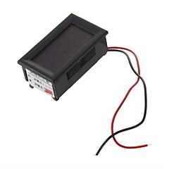 Metro del panel Mini Digital voltímetro 4.5-30V LED rojo y Vehículos de Motor