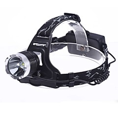 3-Mode Cree XM-l T6 LED hovedlygte (1800lm, 2x18650)