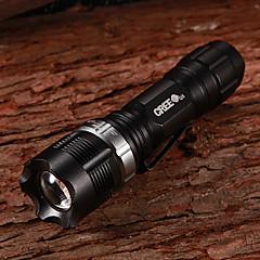 NF-X8455 Flood-to-Throw zoomaus CREE Q3 WC 3-Mode 160Lumen LED taskulamppu Clip (1xAA/1x14500)