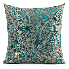 Peacock Cushion Cover (Lake)