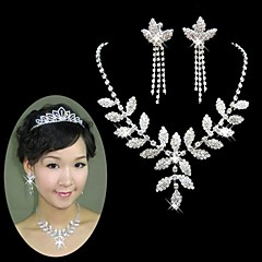Jewelry Necklaces / Earrings Wedding / Party Alloy Women Silver Wedding Gifts