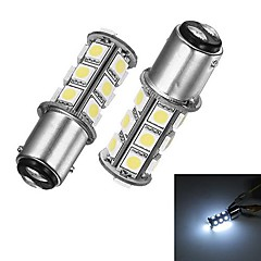 Merdia 1157 5W 40lm 18x5050SMD LED Wit Licht voor Auto Brake / Steering Light (24V / 2 stuks)