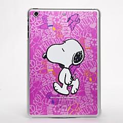 3d veistämällä suunnittelu vaaleanpunainen sarjakuva koira iPadille mini 3, ipad mini 2, iPad Mini