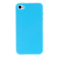 Durable TPU Open-face Case for iPhone 4/4S (Assorted Color)