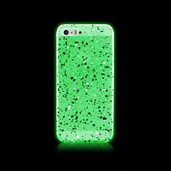 lumière dans les endroits colorés pc étui rigide noir pour iPhone 5 / 5S (couleur assorties)