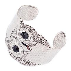 Punk Style Alloy Owl Pattern Opening Bracelet
