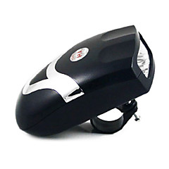 MOON 2-in-1 Black Bicycle Horn with LED Light