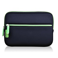 Groen Solid Color Neopreen Anti-Shock Case voor 7'' tablet