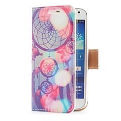 Unelma Catcher Style nahkainen korttipaikka ja jalusta Samsung Galaxy S4 Mini i9190