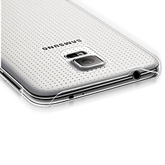 Transparent Thin Hard Case for Samsung Galaxy S5 I9600
