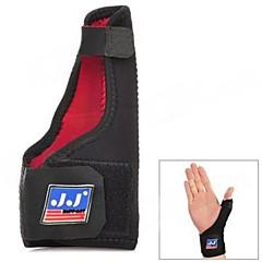 Black Outdoor Sports Rubber + Elastic Nylon Wrist / Thumb Support (763)
