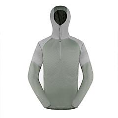 AMADIS Celadon Polyester Long Sleeve Anti-UV Fishing Hoodie
