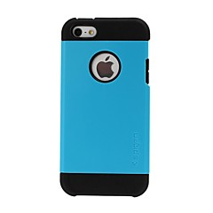 Tough Armor Hit Color Plastic Hard and Soft Combination Case for iPhone 5/5S