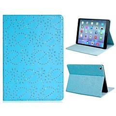 Flitry Floral Print Faux Leather Flip plné tělo pouzdro se stojánkem pro iPad Air (různé barvy)