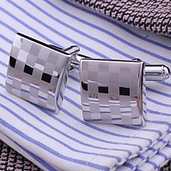 xinclubna® miesten muoti hopea kupari kalvosinn (1.5cm, hopea) (1pair)