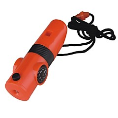 Survival Whistle Vandring Multi Function / Whistle Plastik Orange
