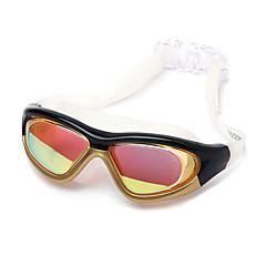 Plating Anti-Fog UV Protection Swimming Goggles