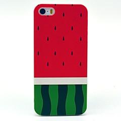 Cas dur de pastèque de modèle pour l'iPhone 5/5S