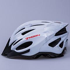 MOON 男女兼用 バイク ヘルメット 21 通気孔 サイクリング サイクリング マウンテンサイクリング ロードバイク レクリエーションサイクリング M:55-58CM S:52-55CM PC EPS