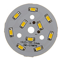 5W 400-450LM Warm White Light 5730SMD Integroitu LED-moduuli (15-18V)
