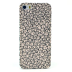 A Lot of Pattern Cats Hard Case para iPhone 5/5S