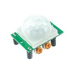 HC-SR501 Human Sensor Module pyro-elektrische infrarood voor Arduino UNO R3 Mega 2560 Nano