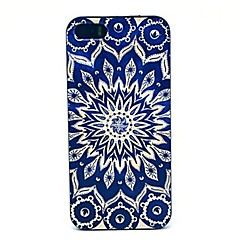 Retro Sunflower Pattern PC Hard Case for iPhone 4/4S