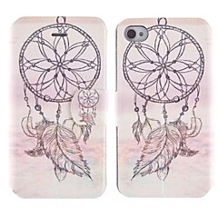 Pendant Mobile Design PU Full Body Case with Card Slot for iPhone 4/4S