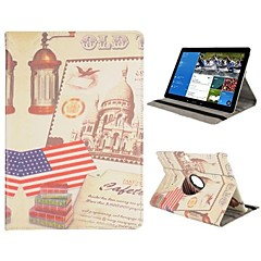 360 Degree Rotate Flip Stand Leather Case With Elastic Belt for Samsung Galaxy Note Pro 12.2 P900