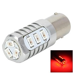 YT1311286 1156 5W  12x5730 SMD 250-350lm 635nm  Red Light  LED for Car Steering / Brake Lamp 12-24V