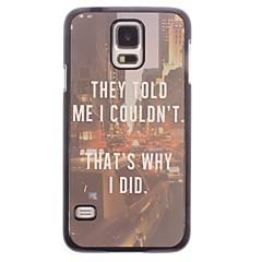 warum ich tat, Aluminium Hard Case für Samsung Galaxy i9600 s5