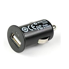 Mini cargador universal del coche del usb para el iphone y otros (5v 1a)