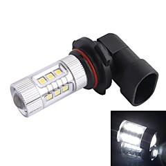 9006 / HB4 80W 12xLED SMD 680LM 6500K White Light LED Car Sumuvalojen Ajovalojen (DC12-24V)