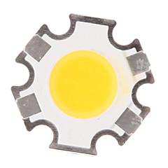 3W 280-320LM COB 3000K luz branca quente LED Chipe (9-11V, 300uA)