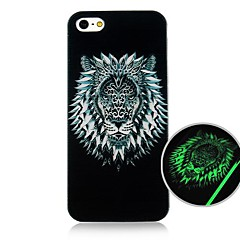 CaseBox® Lion Head Fluorescence after Sunniness Hard Back Case for iPhone5/5S