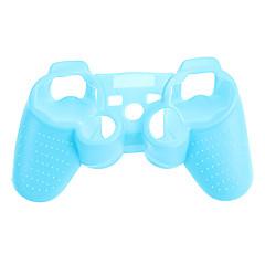 PS3 controlador Noctilucent capa de silicone protetora da pele saco