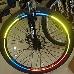 YELVQI Fahrrad Reflektierende Aufkleber