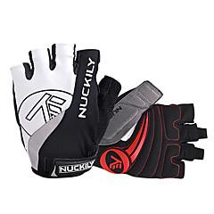 NUCKILY® Activiteit/Sport Handschoenen Fietshandschoenen Wielrenhandschoenen Anti-Slip / Ademend / Reflecterend Vingerloos