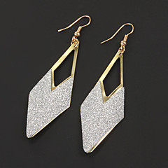 Earring Drop Earrings Jewelry Party / Daily / Casual Alloy Gold / Silver