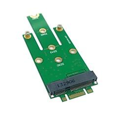 m.2 ngff pci-e 2 sávos arany ujja pin 50mm mini-PCIe mSATA (18 + 8) SSD merevlemez PCBA 0,05 M 0.15ft