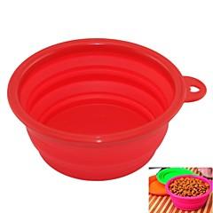 EasyCat silicona nueva mascota agua alimento bowl plegable portátil