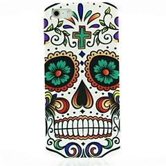 Skull Flower Pattern Hard Case for iPhone 5/5S