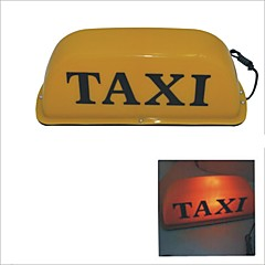 Carking ™ Magnetic Base Taxi Cab Roof Tilmeld Lamp Yellow Light-12V