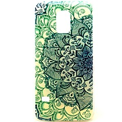 The Gradient of Flowers Pattern Hard Plastic Case for Galaxy Samsung S5 mini
