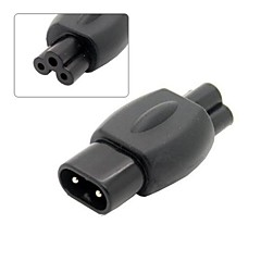 IEC 320 c8 dop la c5 recipient rețeaua de alimentare cu energie Cloverleaf adaptor convertor