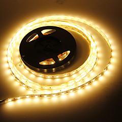 5M 90W 60x5730SMD 7000-8000LM 3000-3500K Warm vitt ljus LED ljusslingor (12V)