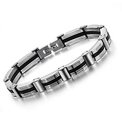 Black Men Between Fashion and Personality Titanium Steel Bracelet
