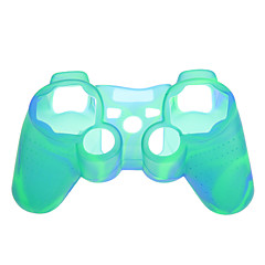 Caso de la piel 2pcs camuflaje de silicona protectora para el controlador de PS3