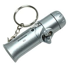 ZW-8100 Portátil Mini Folding Moeda Detecção 60X Microscópio com 2-LED luzes brancas