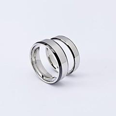 Simple Anti-Radiation TItanium Steel Couple Rings